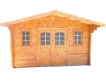 Abri Madriers bois massif / 42 mm / 24,11 m²