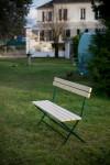 Banc de jardin VICHY en sapin pliable 4 personnes longeur 180 cm en sapin