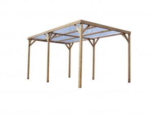 Pergola en bois - 3,00x5,02 m - 15,10 m²