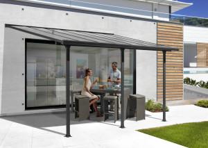 Toit terrasse ALUMINIUM / Surface 12,83 m2