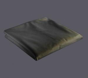 Bâche pour pergola 366 x 255 cm - gris 280 gr/m²