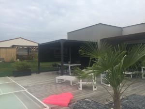 Pergola bioclimatique ALUMINIUM 3 m - 10,80 m²