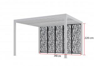 Panneaux moucharabieh 3,60 m x5