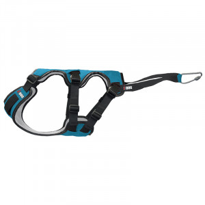 Harnais «Canicross» I-DOG - Bleu/Gris - Taille L